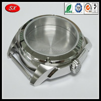 6061/7075 aluminum machining part ,cnc watch case,aluminum cnc milling case