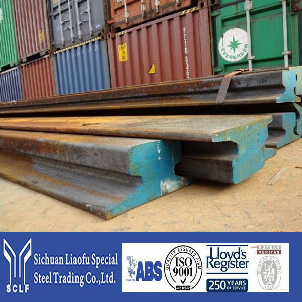 Many In Stocks Used Steel Rail With Plenty Of Samples In Warehouse
