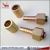 DN16 zinc plated stainless steel hydraulic orfs hose fitting
