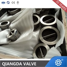 Dual Plate Wcb Material wafer Type Check Valve