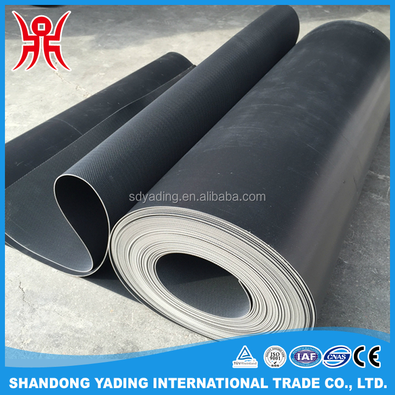 EPDM rubber roof in rolls for waterproofing