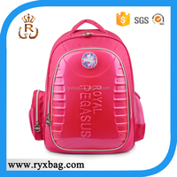 Child EVA school backpack bags with flash LED light design