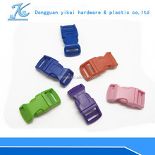 "colorful curved buckle,1/2"" inch plastic buckle for paracord bracelet/bagpacks"