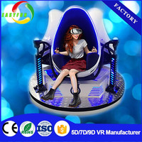 Exclusive movies and games 6 seats 9d vr Cinema electric platform