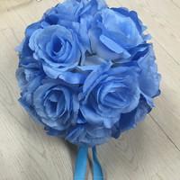 wedding decoration artificial rose flower ball 16CM-22CM party decoration rose ball