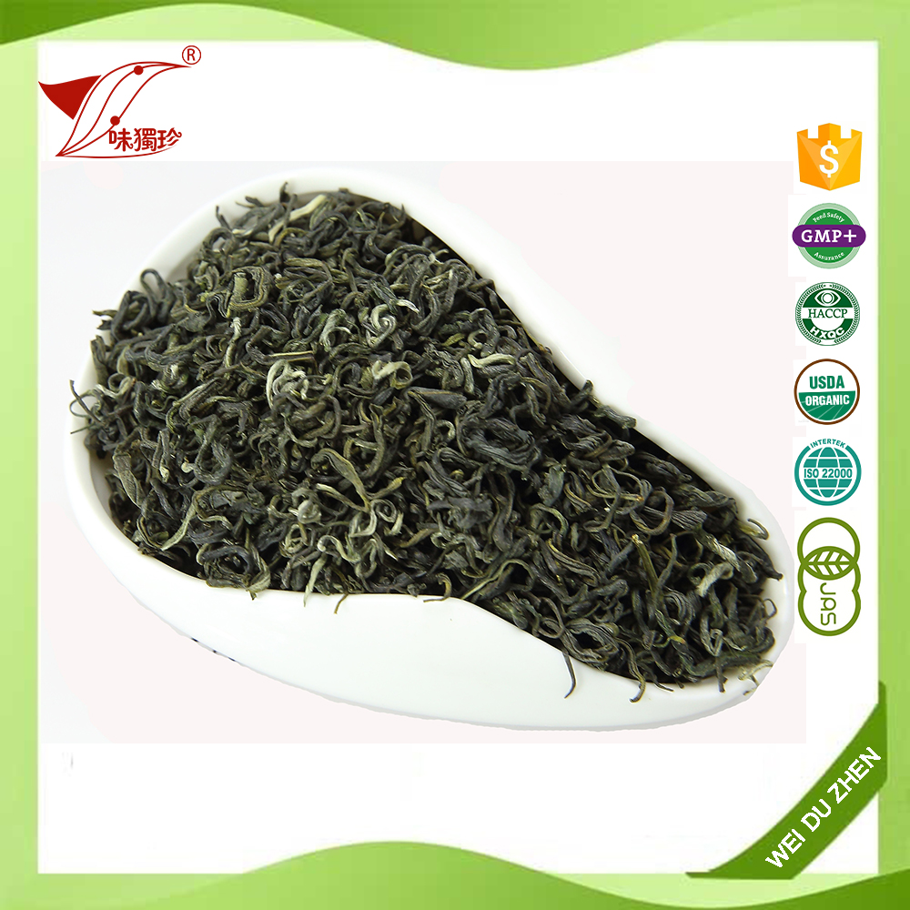 Tea Factory Export Chinese Tea Top Level Spring Green Tea Leaves MaoFeng Private Label Tea Is Available