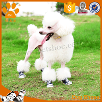 Pet products durable canvas dog sneakers