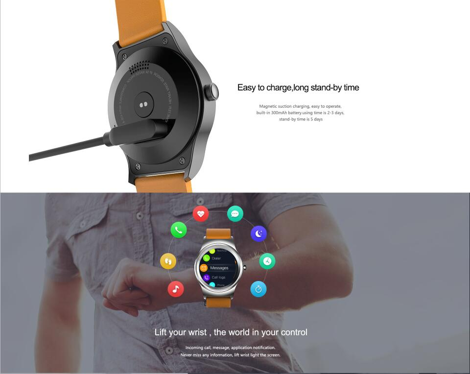 2018 hot selling Sport Smart Watch phone with IPS full round touch screen waterproof for Android /ios