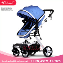 weilebao baby buggy with stroller cup holder /baby stroller big wheels