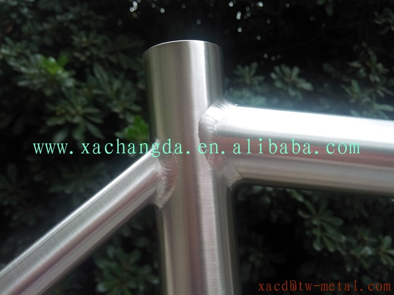 Titanium road bike frame customized titanium road racing bicycle frame XACD 48cm Ti road bike frame