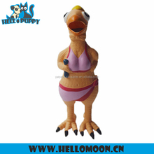 Custom Private Label Fashion Latex Chicken Dog Sex Cartoon Toy