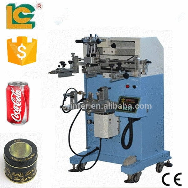 Best quality metal can silk screen printer for sale LC-600E