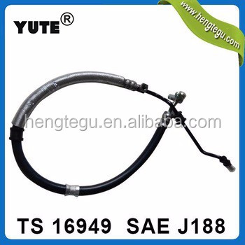 YUTE 3/8 inch sae j188ms263-53 auto power steering hose