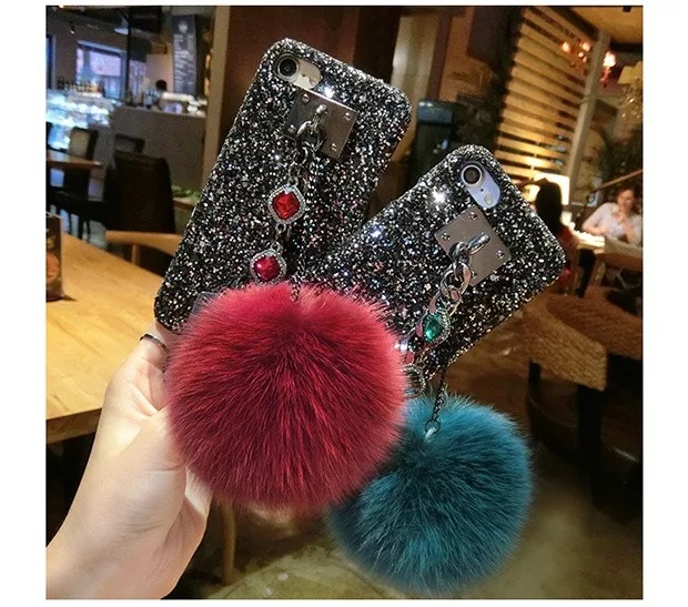 Wholesale Fashion jewelry Luxury Diamond Bling Mobile Phone Case For IPhone 6 6S 6plus