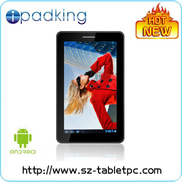 7 inch mid tablet pc manual, front camera 0.3MP, 2.0MP at back, multi touch point, android 4.0, with call phone