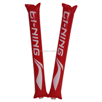 PE Promotion Event Cheering Stick Hand Clap Noise Maker Inflatable Led Cheering Sticks