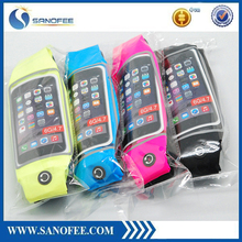 Sport elastic Mobile phone fitness running belt waist bags For iphone 6 6s plus