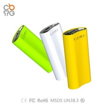 2015 new private tooling portable power bank/power pack/battery charger with LED torch light