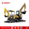 SANY Digging Machine From 1 6ton