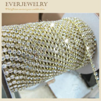 HOT!!!NEW!!!Crystal Decorative Rhinestone Trims In Roll For Dress,Shoes,Necklace,Bracelet