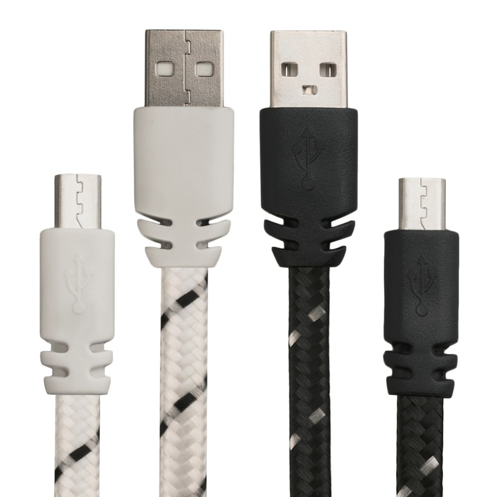 V8 Micro 2.0 USB Flat Noodle Data Charger <strong>Cable</strong> For Android Cell Phones