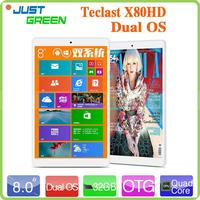 "New Release! Teclast X80HD 8""IPS Quad Core 2GB/32GB Phablet Android 4.4 Kitkat 802.11b/g/n Multi-Languge"