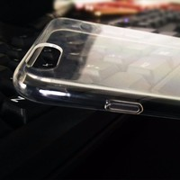 Transparent soft tpu cell phone case cover for iphone 6
