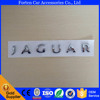 Car ABS Plasitc Chrome Label Nameplate sticker Decal For Jaguar