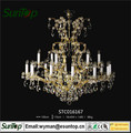 2016 home decoration chandelier crystal pendant with Energy Saving
