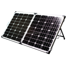 Portable folding solar panel 80W 100w 120w 160w 180w for camping,solar panel with good quality