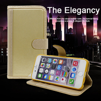 PU Litchi Grain Leather Universal Wallet 6 inch leather case