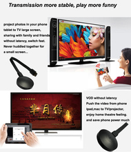 Chromecast G2 1080P Mirascreen Interactive Wifi Display Dongle Receiver Airplay Chromecast RK3036 miracast dongle