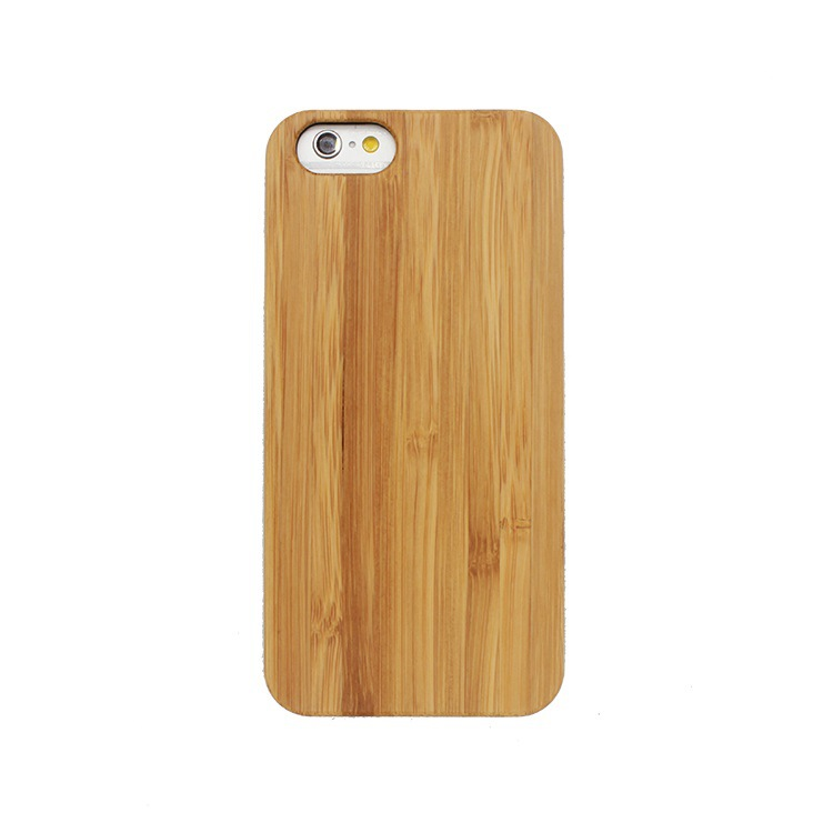 Wholesale Blank Bamboo Wood Mobile Phone Case Cover For Iphone 7