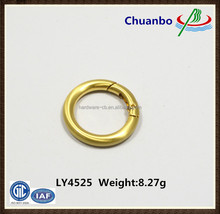 Metal Spring Gate O Ring/Spring Ring Clasp For Bag Accessories