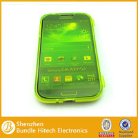 Full protection tpu case for samsung galaxy s4 with touch screen