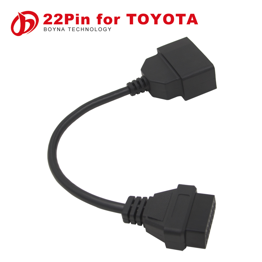 BYL SALE !2015 NEW TOYOTA 22 Pin Adapter to 16 Pin OBD II (Factory price Quality Assurance)