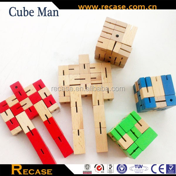 2016 New puzzle robot toys for children With Imprint Logo