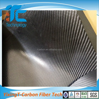 New Material TPU Coated Leather Carbon Fiber Fabric Price per kg