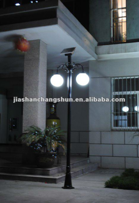 Solar Courtyard Light