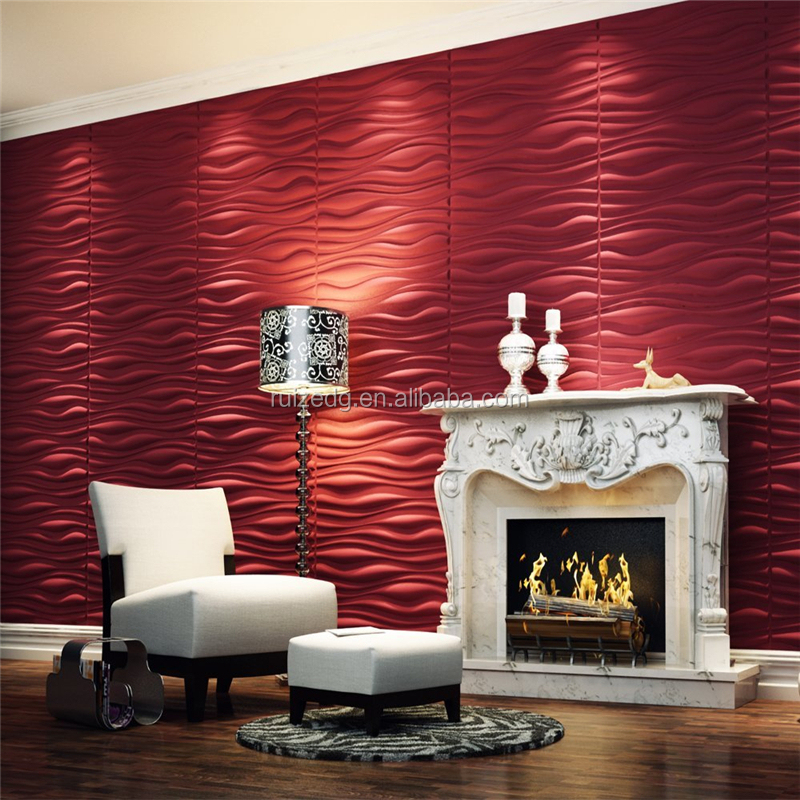 water proof and sound proof 3d wall panel