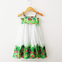 MS63830C summer sleeveless kids dress export child clothing
