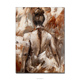 English Creative Hand Painted Abstract Hot Naked Women Photo Painting