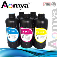 Top quality Aomya 3D UV curable ink LED uv ink for Epson Stylus Photo R2000 Flatbed printer for EPSON DX5 printhead