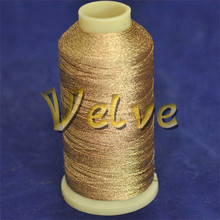 silver copper metallic yarn