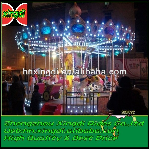 Amazing Carousel !!! top quality amusement park carousel horse