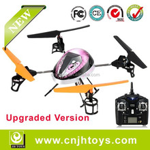 V212 Upgrade Version 2.4G Large 4-Axis & 4-Channel Vortex RC Quadcopter Aircraft with Gyroscope & LED Light (Purple) Wltoys