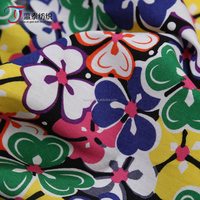 Factory direct wholesale spot cotton poplin fabric printing small floral shirt fabric printing activity