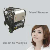 Free shipping to Malaysia 200bar hot water, 50bar steam jet car seat cleaning machine