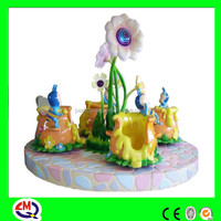 [Limei kids play] Children love colorful painting coin operated rides on