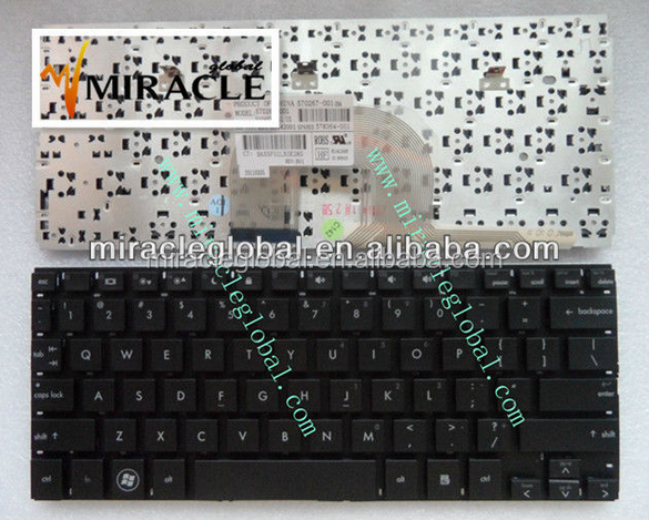 Laptop keyboard for hp mini 5010 black US layout